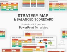 Best and well-designed collection of Strategy Map and Balanced Scorecard PowerPoint Templates Diagrams and Slides to identify the right goals for your organization and ensure they are interconnected During your strategic planning process. Strategic Roadmap, Strategic Planning Process, Strategic Goals, Map Diagram, Strategy Map, Ppt Slide Design, Program Management, Data Analytics, Powerpoint Presentation Templates