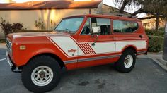 1979 International Scout II Rallye.