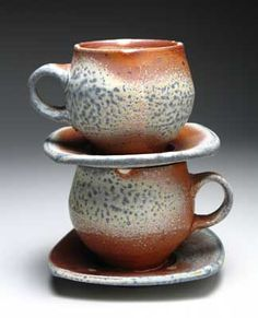 Matthew Hyleck | Cups with saucers.