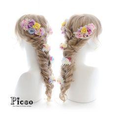 Gallery 247 . Order Made Works Original Hair Accessory for WEDDING . #色とりどり の #ローズ を盛り込んだ #カラフル で #スタイリッシュ な #ラプンツェル スタイルが もう #可愛すぎ  #カラードレス の色合いに しっかり合わせた #Picco #人気 のスタイル  . . #結婚式 #髪飾り #オーダーメイド #前撮り #ウェディング #花嫁 #ドレス . #花飾り #造花 #ヘアセット #ヘアアレンジ #三つ編み . #hairdo #flower #hairaccessory #picco #wedding #bridal #hairarrange #dress #rapunzel . . NEWS  ホームページの人気コンテンツ 「オーダーメイド作品ギャラリー」を更新しました。オーダーメイドご依頼の際は、ぜひ、ご参考にしてくださいませ。 . ただ今、大変混雑しております。 ご注文日より1ヶ月以上お時間を頂く場合もございますので ご依頼はお早めにお願いいたします。