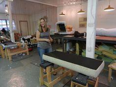 Upholstery Shop Set Up Workshops Furniture Upholstery