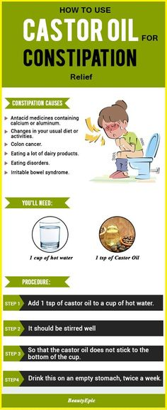 How To Use Castor Oil for Constipation Relief