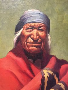 Early 20th Century Portrait of Native American Chief Robert Koehler http://www.mghdiscoveredart.com/new-inventory1/chief