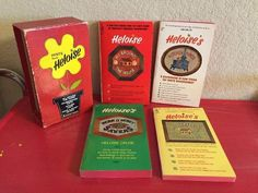 Vintage Hints from Heloise Box Set of 4 Books 1960's Housewife Homemaking     eBay
