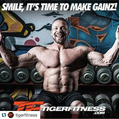 Time to make some GAINZ!! Get your ass up and go out and kill it at the gym !! #Nutrishop #nutrishopwarwick #marclobliner #tigerfitness#bodybuilding #bodybuildingmotivation #physique #fitness #fitfam #fitspo #fitspiration #1stPhorm #LegionOfBoom #GAINZ #GainTrain #getbig #gymtime by pam_pam_smash