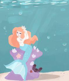 mermaid by irlsealpup on DeviantArt