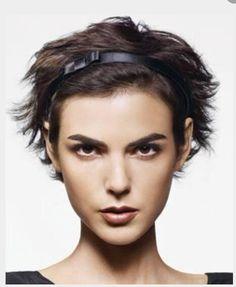 Acessório para cabelo curto