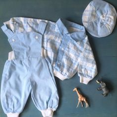 Danish vintage baby boy outfit