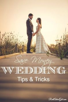 Plan your own wedding and save money, read these tips & tricks save money on wedding, frugal wedding ideas #wedding #frugal