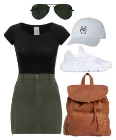 """Untitled #75"" by natalie-nunez80 on Polyvore featuring NIKE, Billabong and Ray-Ban"