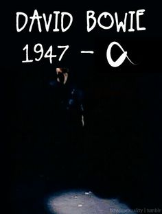 Infinito Bowie :(