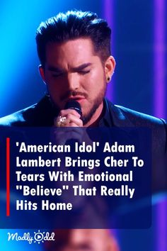 There is no doubt that Adam Lambert is a very accomplished singer. #adamlambert #cher #believe #awards #music #singing #AmericanIdol