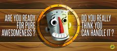 """Videojuego mobile: Whack a Robot: Smash it - """"Are you ready for pure awesomeness"""" - Plataforma: Android"""
