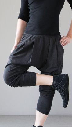 Men's Sarouel Drop Crotch Harem Pants on Etsy.com