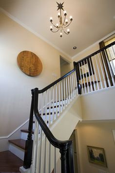 Painted Stair Railing Design, Pictures, Remodel, Decor and Ideas - page 7