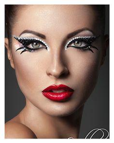 Xotic Eyes Cleopatra schwarz silber #BeautyMakeup #EyeMakeUp #FakeLashes #Makeup