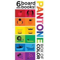 #Hanukkah Selection: Pantone Box of Color board books for kids | $12.95