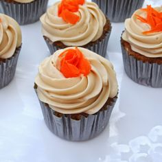 The Alchemist - The Very Best Carrot Cake Cupcake Recipe - These cupcakes are moist and full of flavor, and frosted with a brown sugar cream cheese frosting. These really are the best carrot cake cupcakes I've ever had!