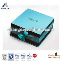 Source Mountain classic fancy paper chocolate gift packaging box wholesale on m.alibaba.com