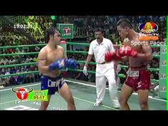 Kun Khmer, Chan Bunhoeurn (Khmer) Vs Thongmon Sor Petch Udorn (Thai) 05 ...