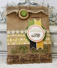 Gift Bag by Melissa Phillips for Papertrey Ink (March 2012)