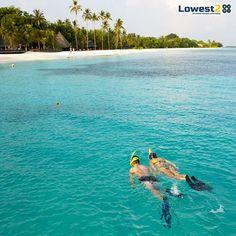 Rejuvenate your senses on the paradise beaches of #Maldives and enjoy the pleasant weather.