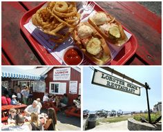 LOBSTER SHACK SEASON: 20 AUTHENTIC PLACES TO EAT MAINE SEAFOOD - HARRASEEKET LUNCH & LOBSTER COMPANY 36 Main St., S. Freeport Escape the shopping crowds and tuck into a steamed lobster dinner, lobster roll or fried seafood basket while enjoying the harbor view. Cash only (ATM on site) BYOB OPENS MAY 2