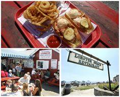 lobster shack collage