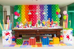 Yasmin Sete fazendo sete anos, nada mais justo do que pintar o sete.   E foi exatamente isso que aconteceu, ela curtiu sua festa do inicio ...