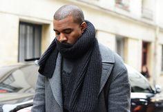 Kanye Style. #PFW