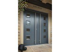 Composite Door, Futuristic, Entrance, Garage Doors, Windows, Outdoor Decor, Modern, Design, Home Decor