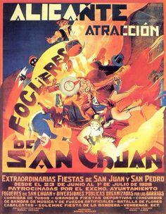 Galería de Carteles de Hogueras de San Juan #Alicante #CostaBlanca #FogueresAlacant