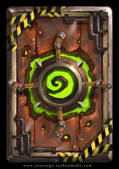 Engineer Card copy by artofjosevega on DeviantArt Game Concept, Concept Art, Hearthstone Heroes Of Warcraft, Urban Rivals, Hearth Stone, Steampunk Weapons, Board Game Design, Hand Painted Textures, Cool Deck