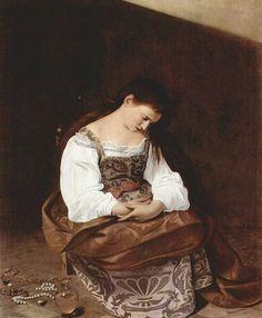 Caravaggio 'La Maddalena Penitente ' non tradire mai la verità di una situazione