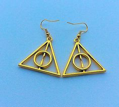 valentines gifts for her gold plated Illuminati by PetalcraftArt