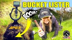 Bucket Lister FOUND metal detecting I Garrett Ace APEX Dawn Pictures, Metal Detecting, Digger, Bucket, Youtube, Buckets, Youtubers, Aquarius, Youtube Movies