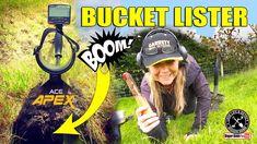 Bucket Lister FOUND metal detecting I Garrett Ace APEX