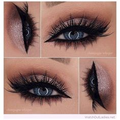 30+ Rose glitter eye makeup for blue eyes ideas ❤ liked on Polyvore featuring beauty products, makeup, eye makeup, eyes, beauty and highlight makeup