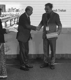 #DrNNKhanna With my Teacher Dr R R Kasliwal. Cherished Memory!!