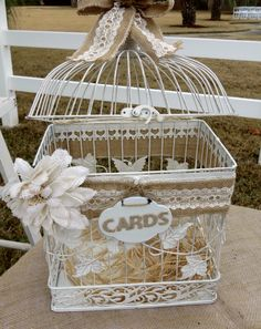 Shabby Chic Gifts Card box by Its Personal Wedding Staging and Design, Milton, FL