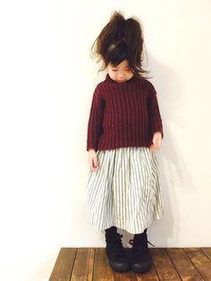 Handmadeのスカートを使ったCHIIIICOのコーディネートです。WEARはモデル・俳優・ショップスタッフなどの着こなしをチェックできるファッションコーディネートサイトです。