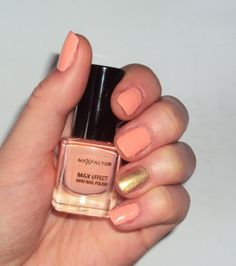 Max Factor Max Effect in Pretty in Pink #manicure #nailpolish #summer