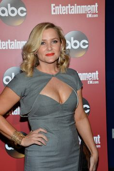 Jessica Capshaw Photos: Celebs Attend an Upfronts Party in NYC