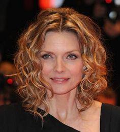 curly hair for older women