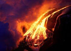 Lava flow by met office, via flickr