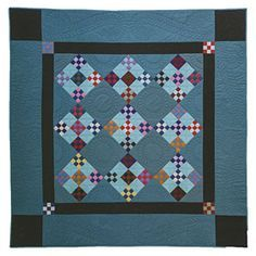 Additional Images of Amish Quilts The Adventure Continues by Lynn Koolish… Amische Quilts, Mini Quilts, Quilting Projects, Quilting Designs, Quilting Ideas, Amish Quilt Patterns, Nine Patch Quilt, Textiles, Doll Quilt