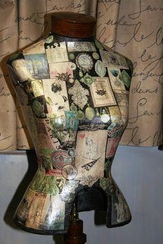 Dear Girl Wallflower: Dress Form Mannequins of Cori & Kimberly