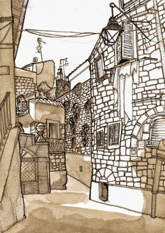 Urban Sketchers: Explore, Investigate and Communicate (Sharing Students' Works from Italy)