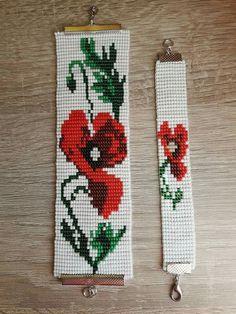 Image gallery – Page 415386765627923625 – Artofit Loom Bracelet Patterns, Bead Loom Bracelets, Bead Loom Patterns, Beaded Jewelry Patterns, Peyote Patterns, Beading Patterns, Loom Flowers, Kawaii Cross Stitch, Bead Loom Designs