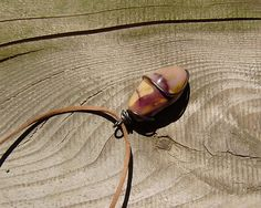 Mookaite Necklace, Symbol of prosperity, Symbol of luck, Wicca Necklace, Wicca pendant, Symbol of Love, Natural Stone Necklace, by WitchTools on Etsy